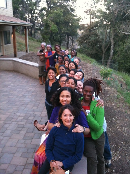 Midwives, doulas, birth workers of color at CAM 2011