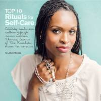 Organic Spa Magazine f. Latham Thomas | 10 Self-Care Rituals for Wellness